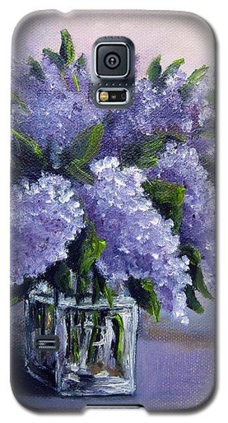Lilac Galaxy S5 Case
