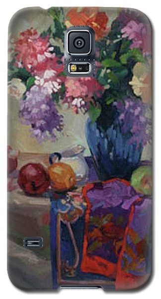 Lilacs And Peonies Galaxy S5 Case