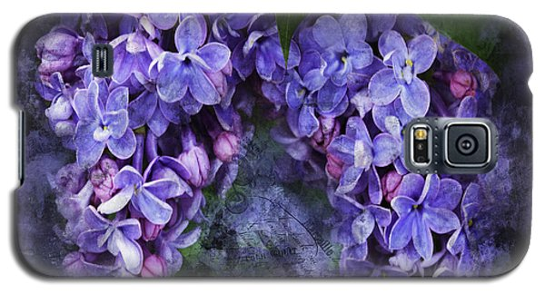 Lilacs Frenchy Scruff Galaxy S5 Case