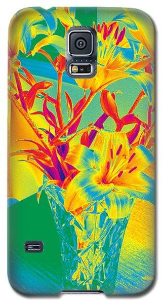 Lilies #3 Galaxy S5 Case