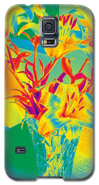 Lilies #3 Galaxy S5 Case