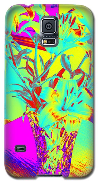 Lilies #4 Galaxy S5 Case
