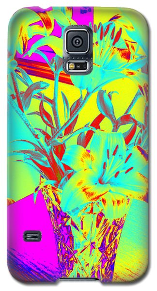 Lilies #4 Galaxy S5 Case