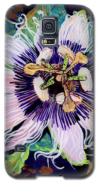 Galaxy S5 Case featuring the painting Lilikoi by Marionette Taboniar