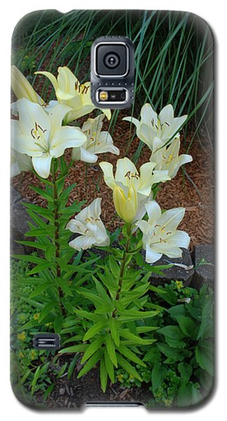 Galaxy S5 Case featuring the photograph Lillies by Ferrel Cordle