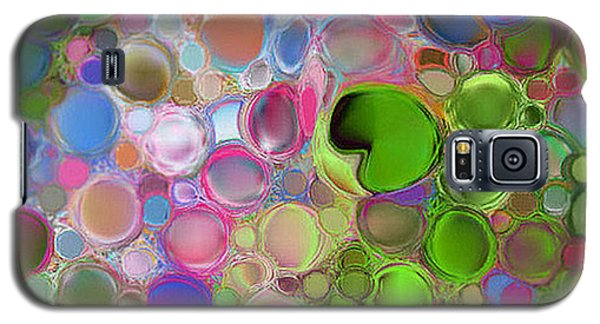 Galaxy S5 Case featuring the digital art Lilly Pond by Loxi Sibley