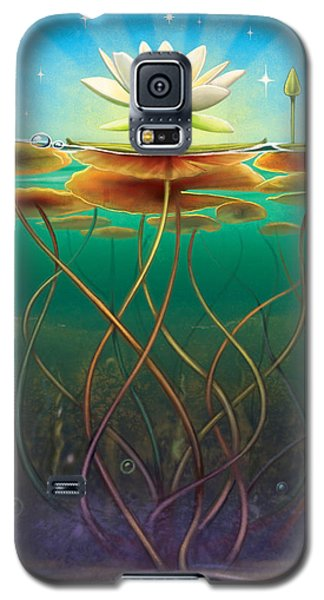 Water Lily - Transmute Galaxy S5 Case