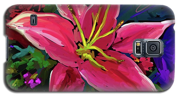 Lily Galaxy S5 Case by DC Langer