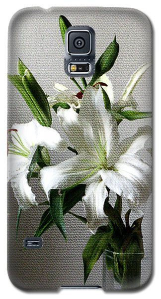 Lily Flower Galaxy S5 Case