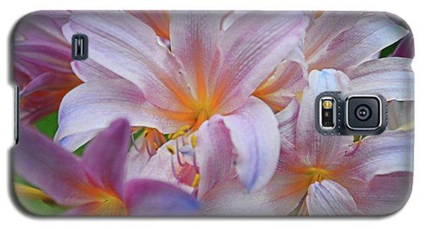 Lily Lavender Closeup Galaxy S5 Case