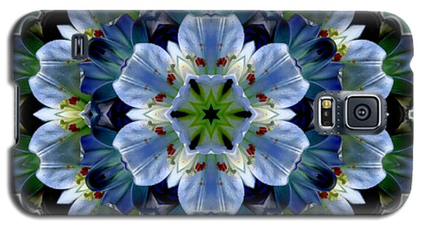Lily Medallion Galaxy S5 Case