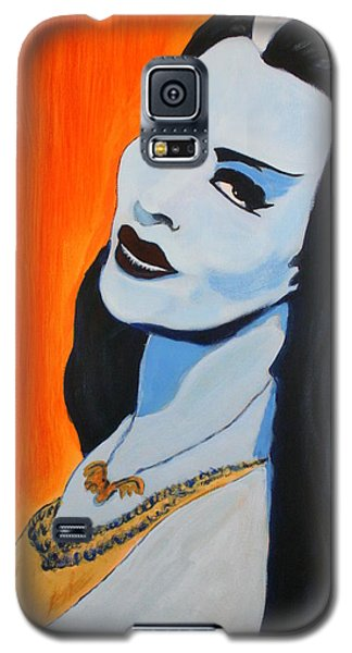 Lily Munster - Yvonne De Carlo Galaxy S5 Case