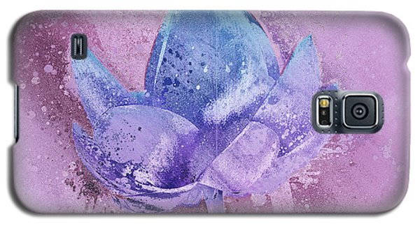 Galaxy S5 Case featuring the digital art Lily My Lovely - S113sqc77 by Variance Collections