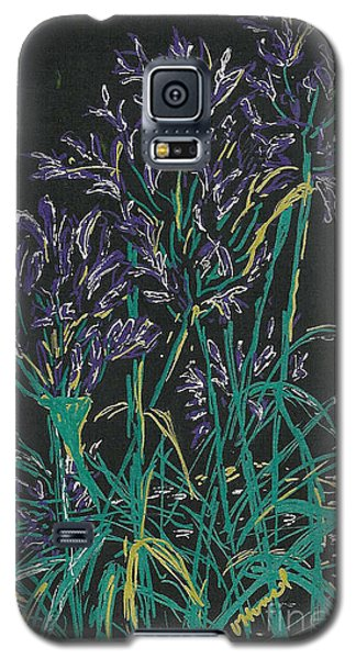 Galaxy S5 Case featuring the mixed media Lily Of The Nile  by Vicki  Housel