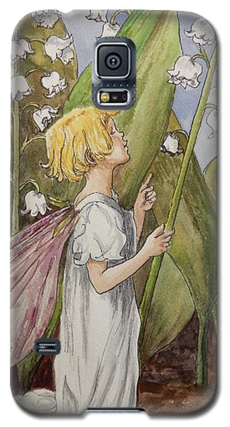 Lily Of The Valley Fairy After Cicely Mary Barker Galaxy S5 Case by Betty-Anne McDonald