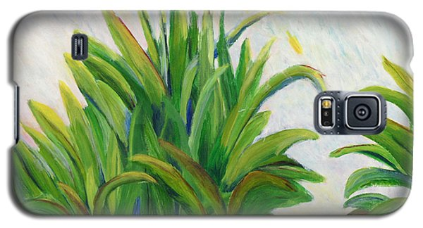 Lily On The Pond Galaxy S5 Case