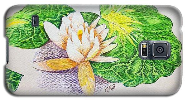 Lily Pad Galaxy S5 Case by J R Seymour