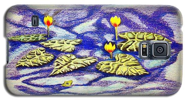Lily Pad Pond Galaxy S5 Case by J R Seymour