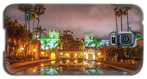 Lily Pond At Night Galaxy S5 Case