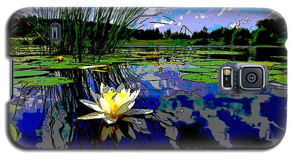 Lily Pond Galaxy S5 Case