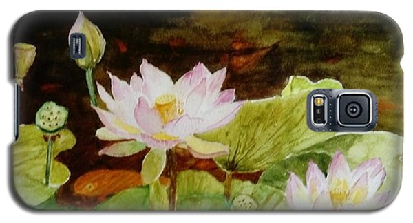 The Lily Pond - Painting  Galaxy S5 Case