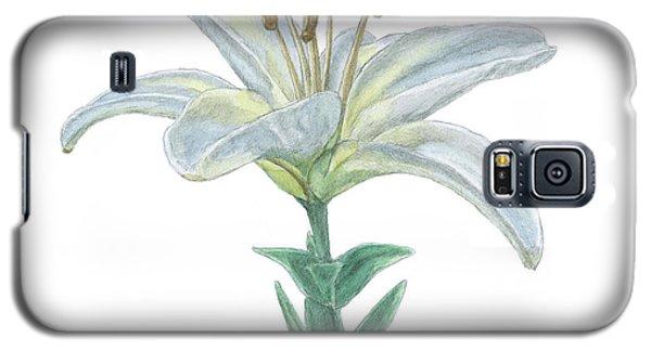 Lily Watercolor Galaxy S5 Case