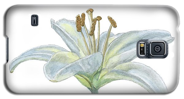 Lily Watercolor Galaxy S5 Case