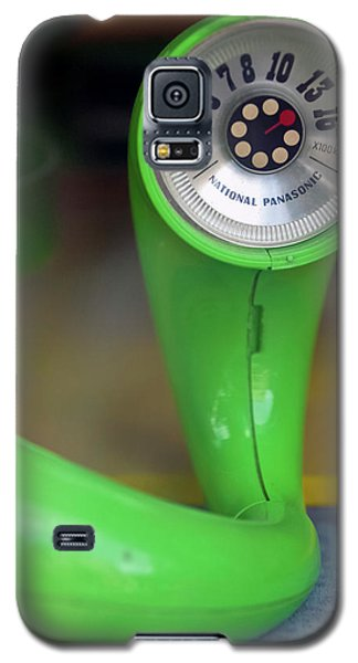 Galaxy S5 Case featuring the photograph Lime Green Twisted Radio by Matthew Bamberg