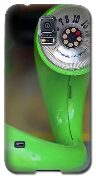 Lime Green Twisted Radio Galaxy S5 Case by Matthew Bamberg