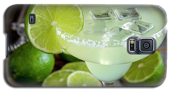 Galaxy S5 Case featuring the photograph Lime Margarita Drink by Teri Virbickis