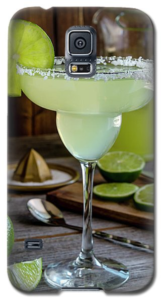 Galaxy S5 Case featuring the photograph Lime Margaritas by Teri Virbickis