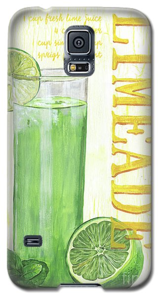 Galaxy S5 Case featuring the painting Limeade by Debbie DeWitt