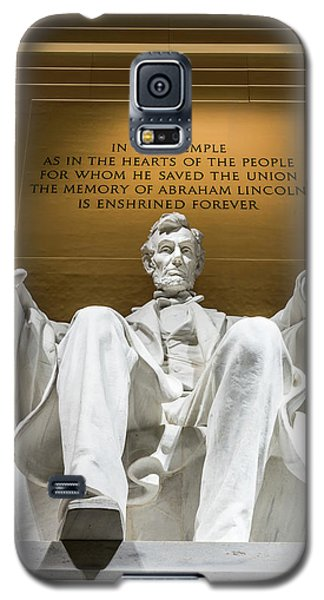 Lincoln Memorial Galaxy S5 Case - Lincoln Memorial 2 by Larry Marshall