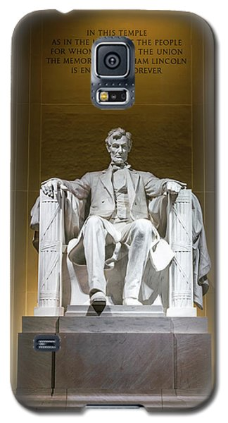 Lincoln Memorial Galaxy S5 Case - Lincoln Memorial by Larry Marshall
