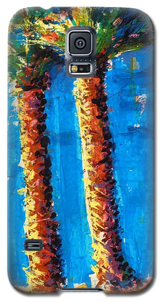 Lincoln Rd Date Palms Galaxy S5 Case