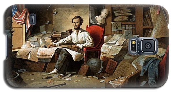 Lincoln Writing The Emancipation Proclamation Galaxy S5 Case