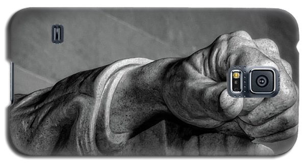 Lincoln's Left Hand B-w Galaxy S5 Case
