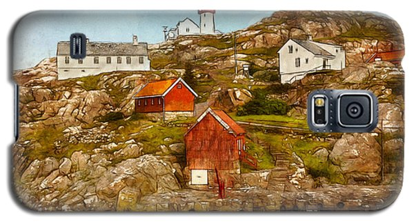 Lindesnes Lighthouse Galaxy S5 Case by Kai Saarto