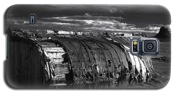 Castle Galaxy S5 Case - Lindisfarne Castle by Smart Aviation
