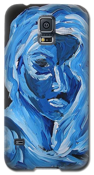 Galaxy S5 Case featuring the painting Lindsay by Joshua Redman