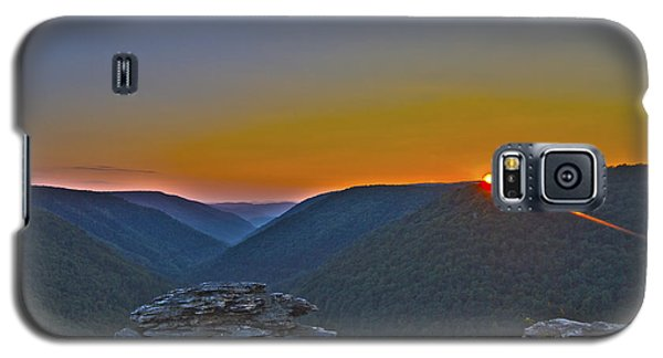 Lindy Point Sunset Galaxy S5 Case