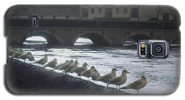 Line Of Birds Galaxy S5 Case