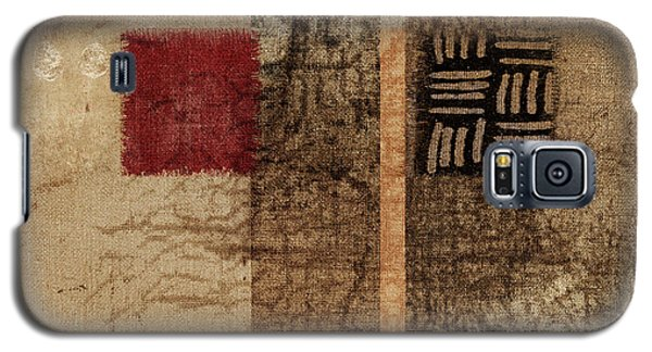 Galaxy S5 Case featuring the photograph Linen Weave by Carol Leigh