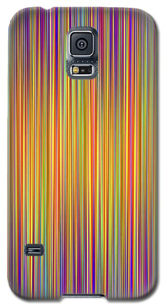 Galaxy S5 Case featuring the digital art Lines 102 by Bruce Stanfield