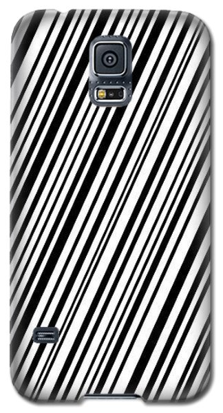Galaxy S5 Case featuring the digital art Lines 7 Diag by Bruce Stanfield