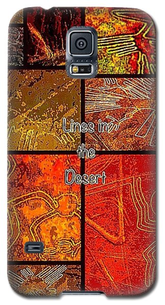 Lines In The Desert Galaxy S5 Case