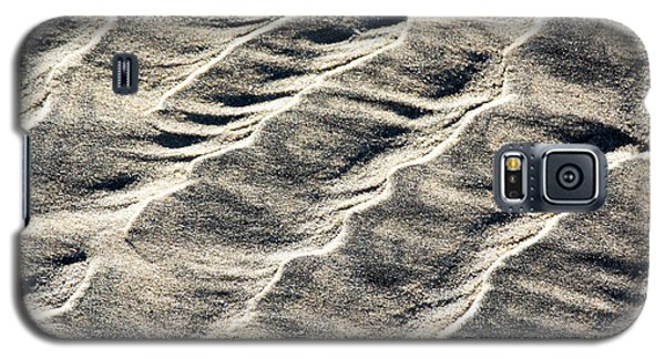 Lines On The Beach Galaxy S5 Case