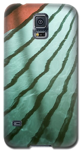 Lines On The Water Galaxy S5 Case