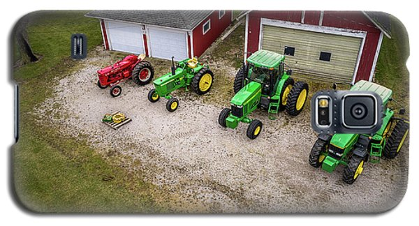 Lining Up The Tractors Galaxy S5 Case