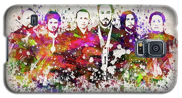Linkin Park In Color Galaxy S5 Case